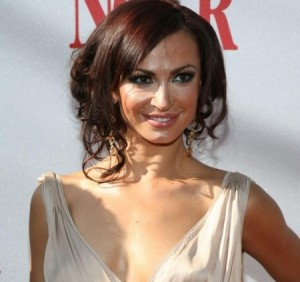 "Karina Smirnoff, winner of TV Show ""Dancing with the Stars"""